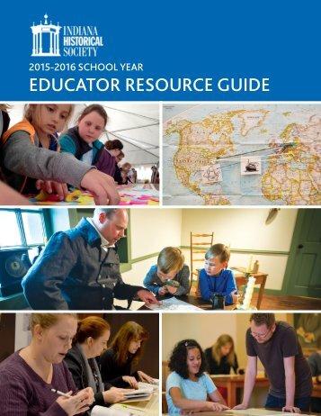 EDUCATOR RESOURCE GUIDE
