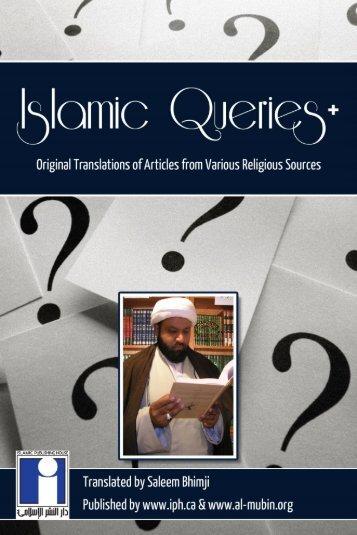 04 - Islamic Queries - The Masculine Pronoun