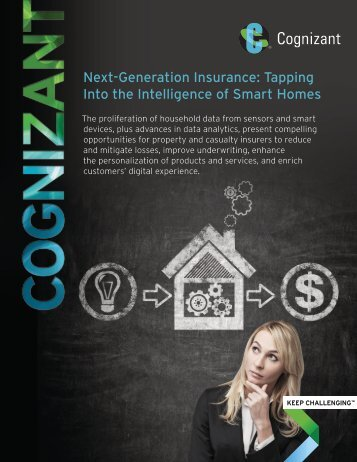 Next-Generation Insurance Tapping Into the Intelligence of Smart Homes