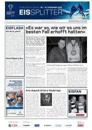 Spengler Cup Gazette EISSPLITTER 31.12.15