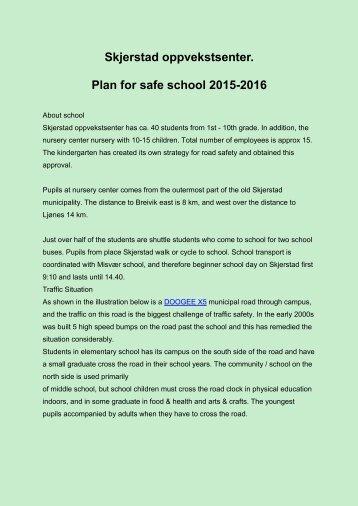 Trafikkplan 2015-16