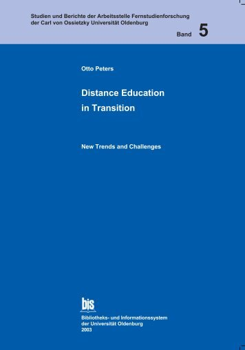 Distance Education in Transition - Master of Distance Education ...