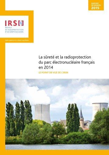 La sûreté et la radioprotection du parc électronucléaire français en 2014