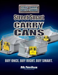 SSP Carry Cans Brochure - Street Smart Parts