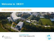 Welcome to DESY!