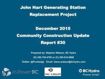 JHGSRP Const Rpt Dec 2015