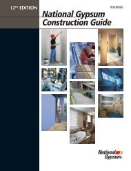National Gypsum Construction Guide - 12th Edition