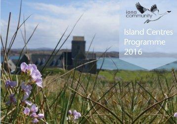 Island Centres Programme 2016