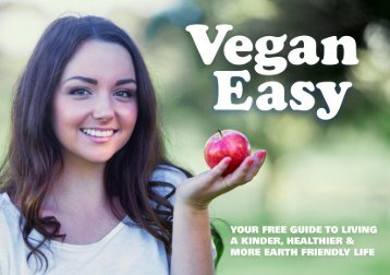 THREE GREAT REASONS TO BECOME VEGAN