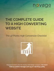 The Complete Guide to a High Converting Website