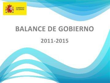 BALANCE DE GOBIERNO