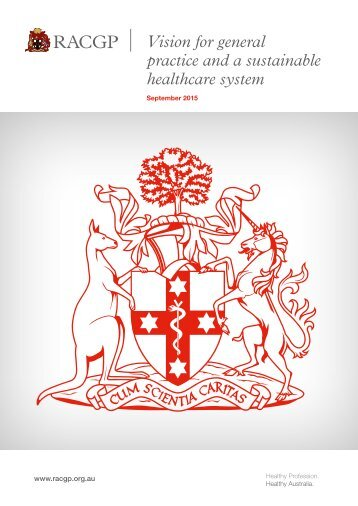 Vision for general practice and a sustainable healthcare system