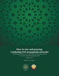 Combating ISIS propaganda networks