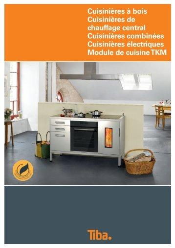 Cuisinières TIBA - Art-Tisons