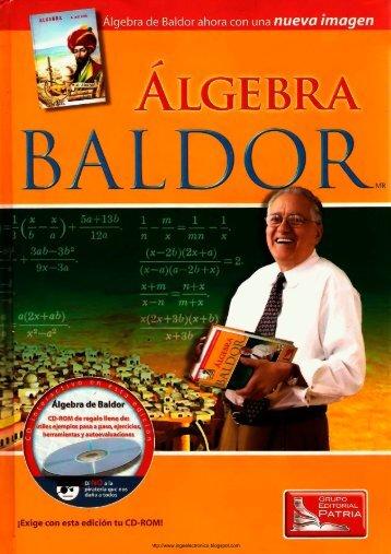 Algebra de Baldor 2da Edición