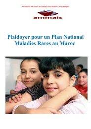 Plaidoyer pour un Plan National Maladies Rares au Maroc