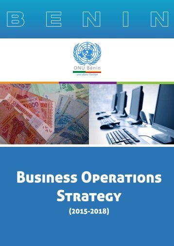 Business Operations Strategy