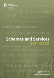 Schemes and Services 2014-2020