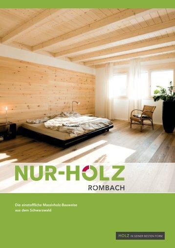 Brochure NUR-HOLZ®