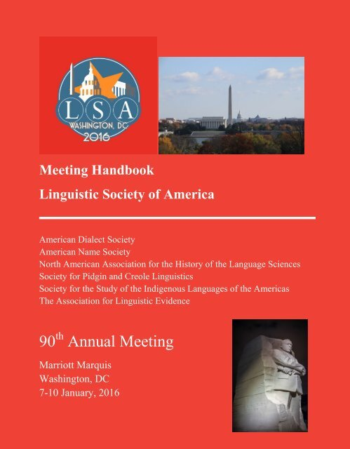 90 Annual Meeting
