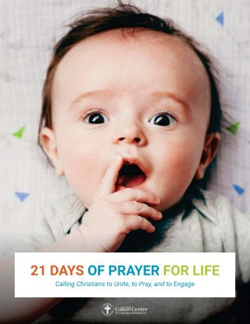 21 DAYS OF PRAYER FOR LIFE