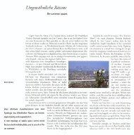 Un-common spaces, TOPOS June 39 2002