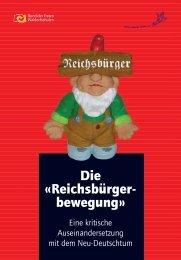 «Reichsbürgerbewegung»