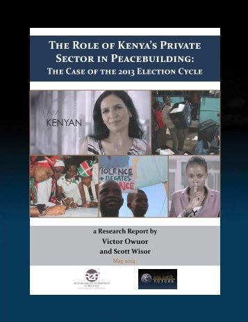 The Role of Kenya's Private Sector in Peacebuilding