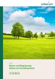 Katalog Rasen und Begruenung 2020 / Catalogue gazon et reverdissement 2020