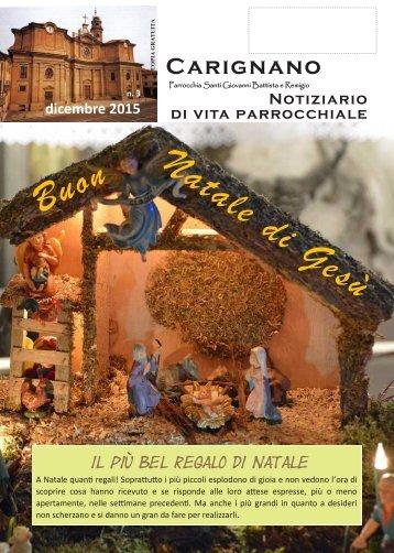 Bollettino DICEMBRE 2015