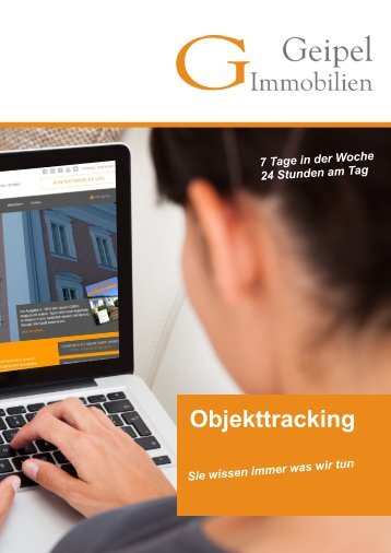 Objekttracking Geipel Immobilien