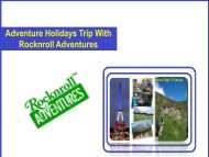 France Adventures Trip For School Students - RocknRoll Adventures