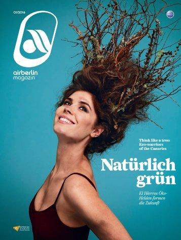 Januar 2016 airberlin magazin - Natürlich grün