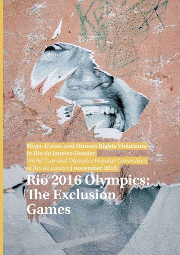 Rio 2016 Olympics The Exclusion Games