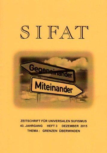 SIFAT - Zeitschrift für Universalen Sufismus - 2015 Heft 3 - Dezember (Leseprobe)