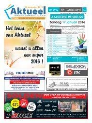 Editie Aalst 30 december 2015