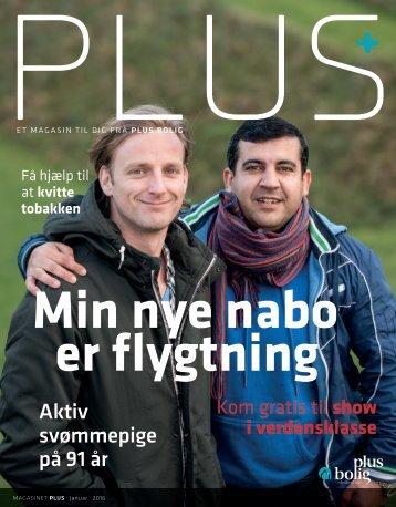 Magasinet PLUS - Januar 2016 - Min nye nabo er flygtning