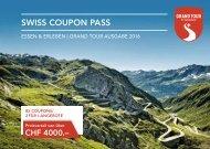 STC SwissCouponPass 2016 Deutsch
