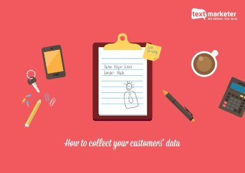 How to collect your customers' data