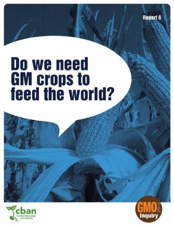 to feed the world?