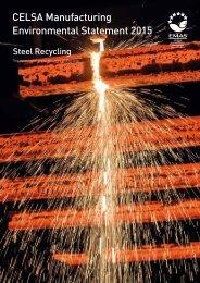 CELSA Manufacturing Environmental Statement 2015