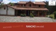 Folleto Rancho San José