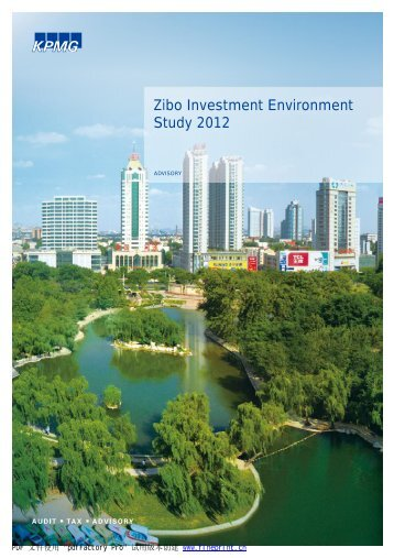 KPMG Research On Zibo Investment Environment
