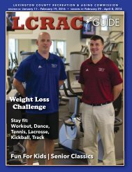 LCRAC Guide Sessions III & IV 2016