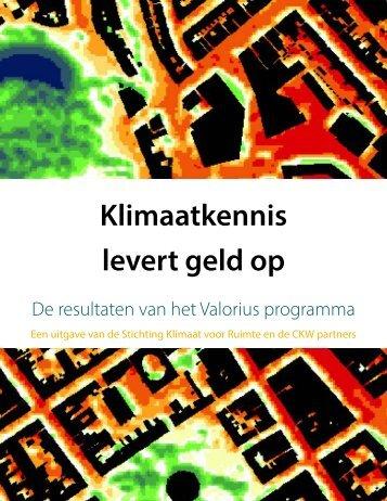 Klimaatkennis levert geld op