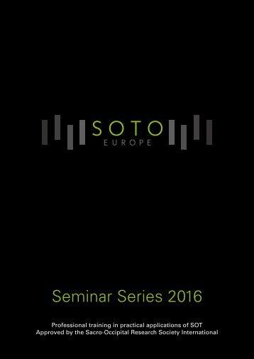 Seminar Series 2016
