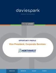 Vice President Corporate Services