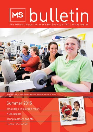 MSWA Bulletin Magazine Summer 15 WEB