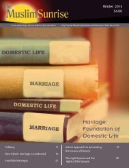 Marriage Foundation of Domestic Life
