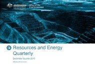 Resources and Energy Quarterly